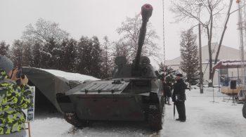 Uroczystość powitania wojsk Amerykańskich w Polsce